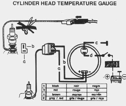 cylhead vdo performance instruments vdo temperature gauge wiring diagram at n-0.co