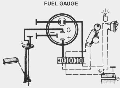 Showthread on wiring diagram for boat fuel gauge