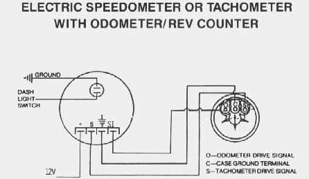 Vdo on tachometer wiring diagrams