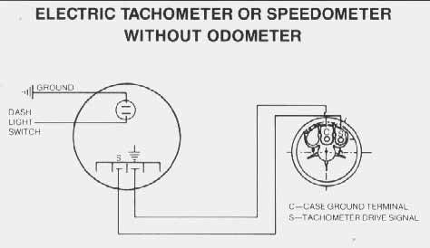 diesel tachometer wiring diagram vdo performance instruments